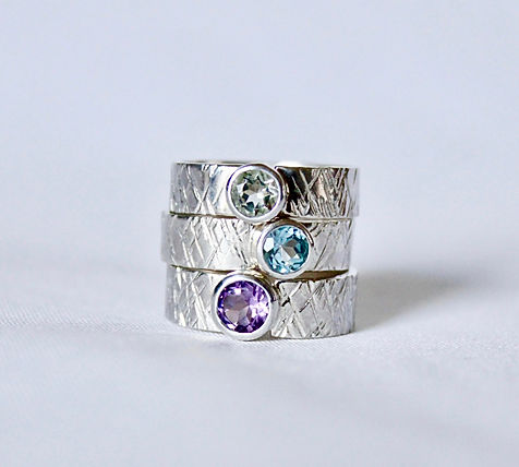 Alice Silver Designs multi gemstone chun