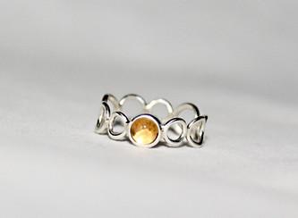 Alice Silver Designs citrine gemstone bu