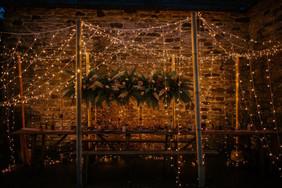 Fairylight Tunnel on Upper Courtyard