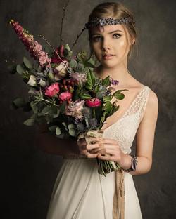 Bridal editorial for _PerfectWeddingMaga