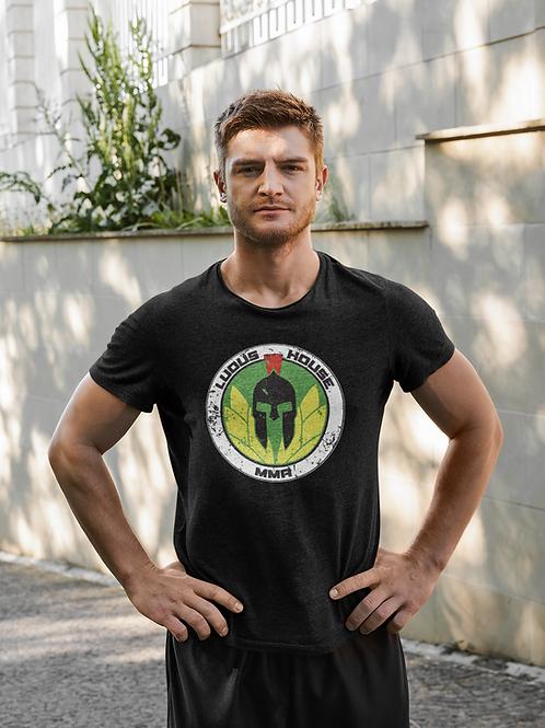 T-Shirt - Ludus House MMA - Colour Logo - Black Shirt