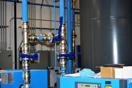 Compressor Pipe Installation