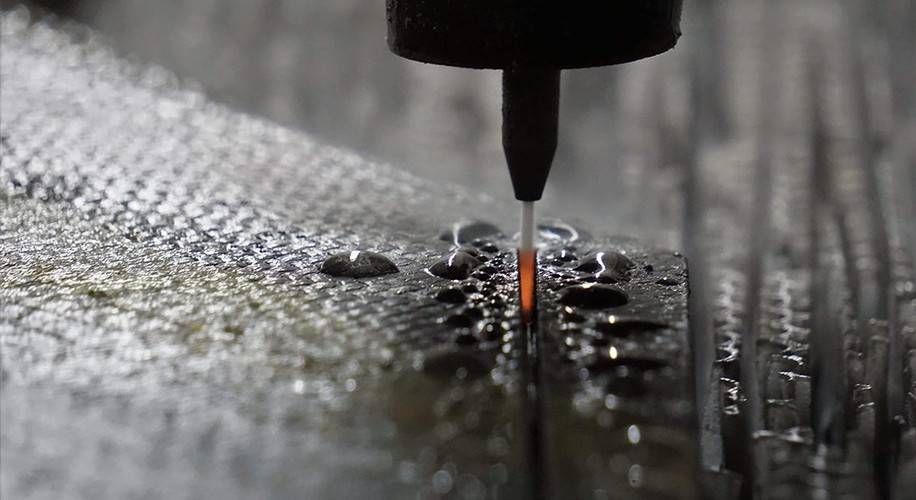 WATERJET equiped
