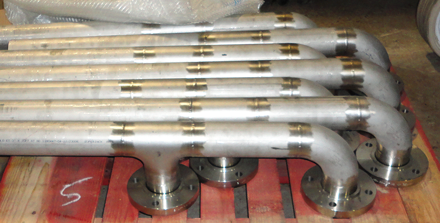 Stainless Steel Piping Parts