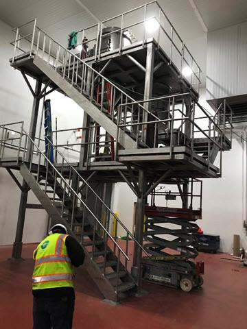 Platforms Fabrication