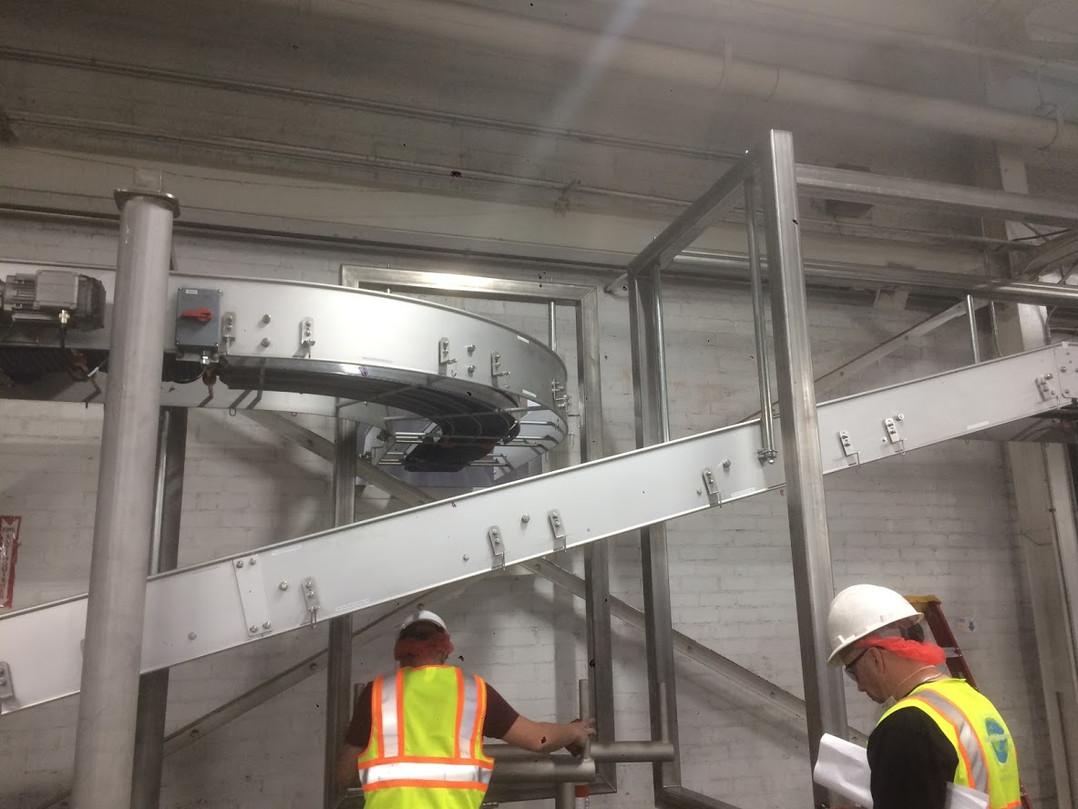 Conveyors Installation