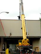 Heavy steel Structures Rigging