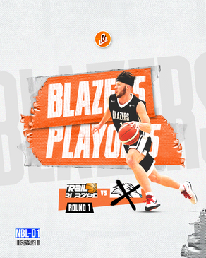 Blazers knock off Wolves in 1st round of the NBL d1 pLAYOFFS
