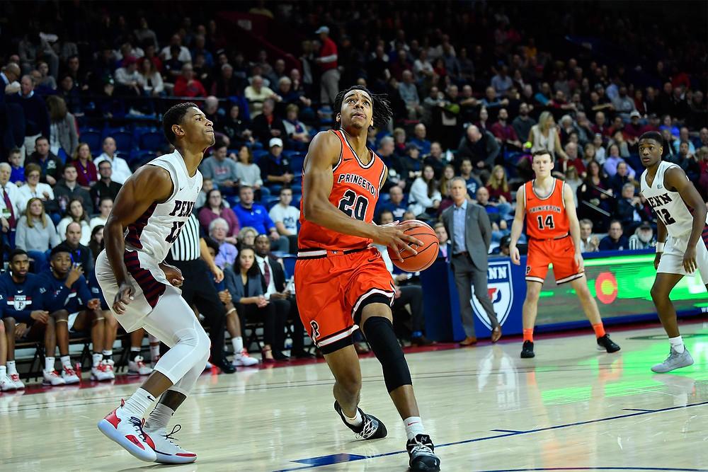Princeton University Men's Basketball - Torisesan Evbuomwan at Penn