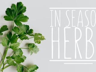 In Season: Herbs