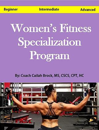 Women's Fitness Specialization Program