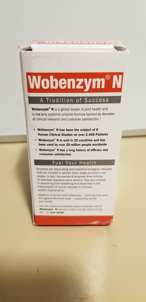 Wobenzym N Healthy Inflammation and Joint Support† 100 Tablets