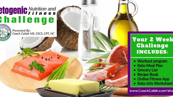 Ketogenic Nutrition and Fitness CHALLENGE With Coach Cailah