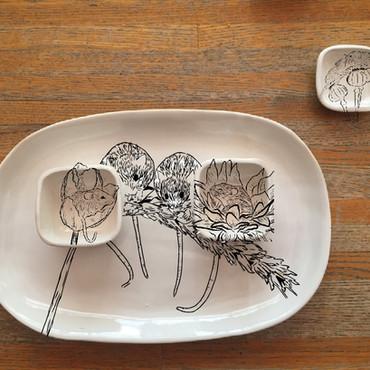 Harvest Mouse Serveware