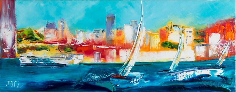 Joce artiste peintre expressionniste coloriste