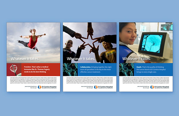 Ad Campaign, Graphic Design, Healthcare Advertising, Bay Area