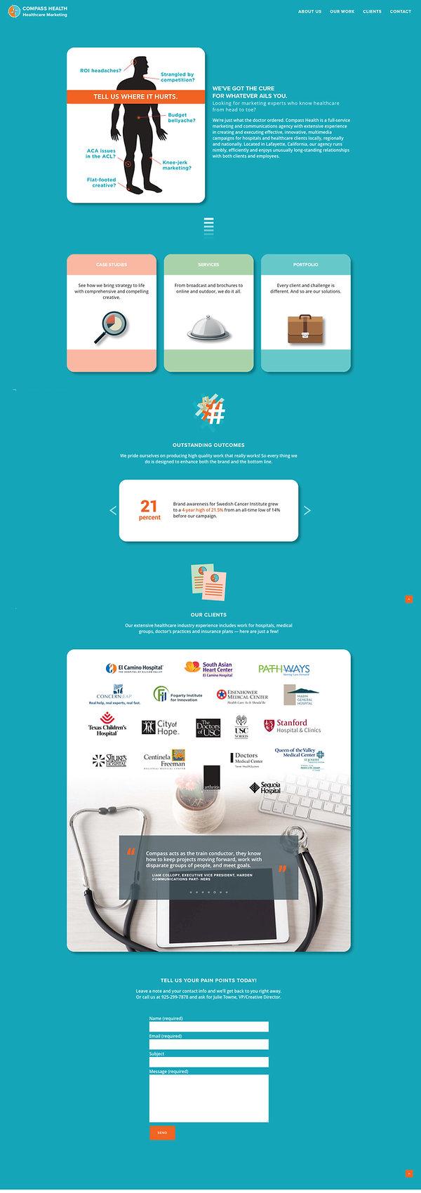 Web Design, Bay Area, Healthcare Advertising