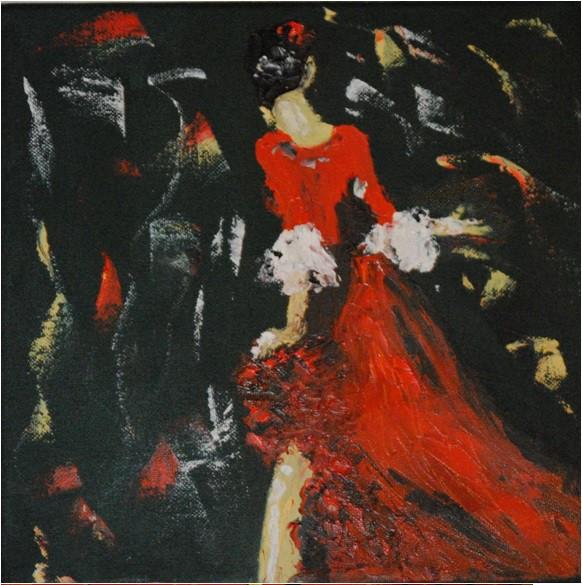 Sevillane en robe rouge.jpg