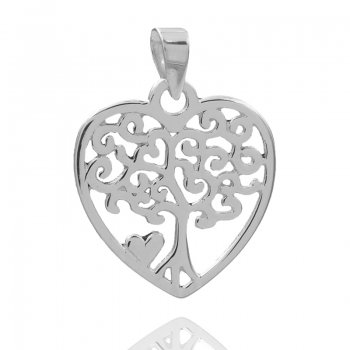 Anhänger Herz/Lebensbaum
