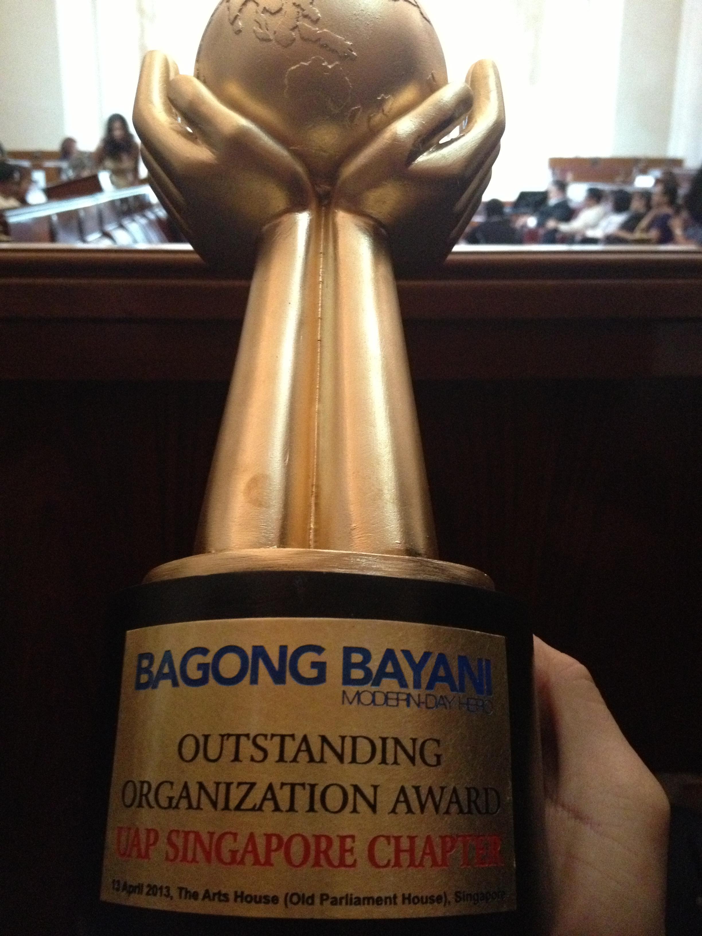 """Bagong Bayani """"Outstanding Filipino"""