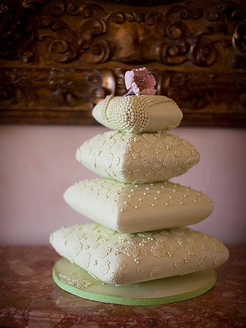 Pillow fake cake  Wedding