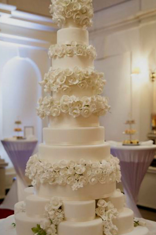 Giant Wedding cake Celebration