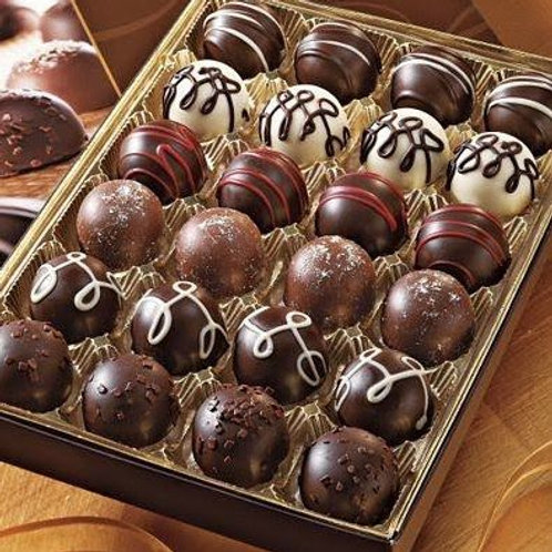 Assorted chocolate truffles 24 unit