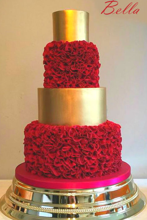 Luxury wedding Fake cake