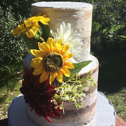Rustic Cake -fake cake