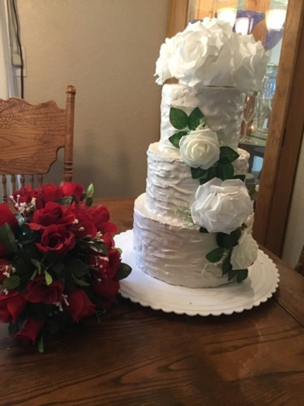 Rustic Wedding cake Beige