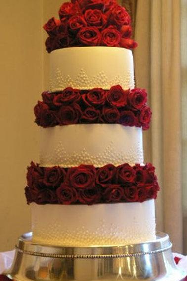 Fake cake wedding