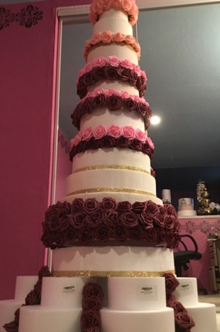 Giant Wedding cake Celebration Order