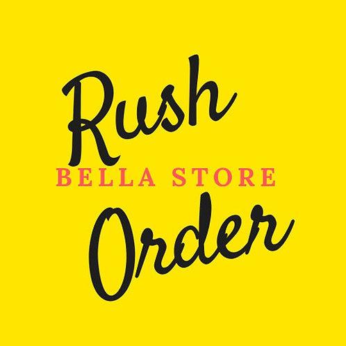 Rush Order Priority Shipping
