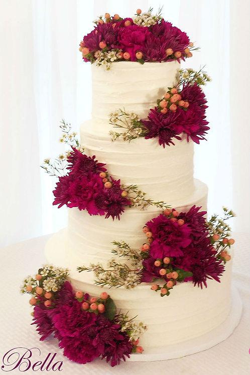Wedding Fake cakes Rustic cake