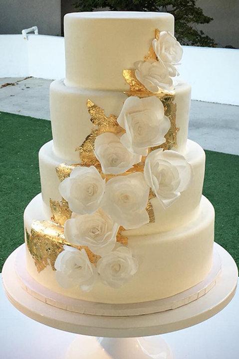 Wedding Cake snow white Ivory