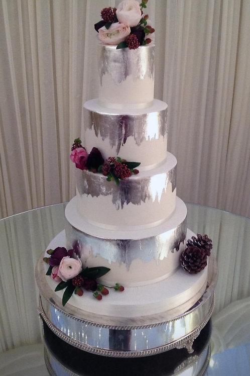 Wedding Cake silver