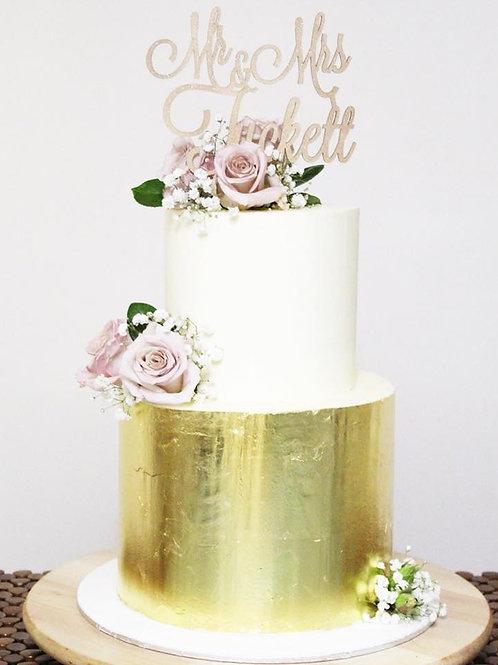 Wedding gold Mary