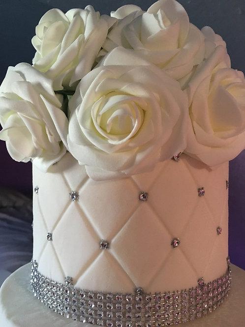 Topper cake flowers