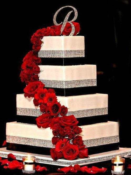 Wedding Cake Ivory silver