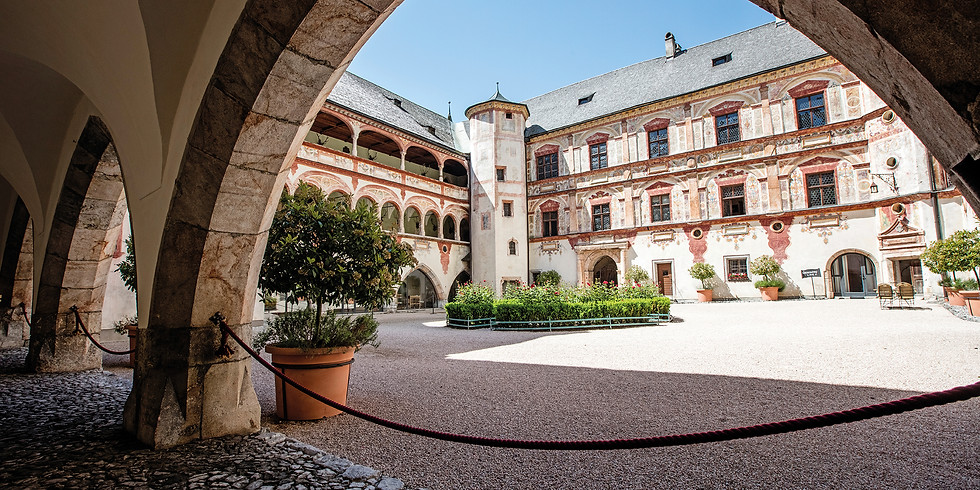 Schloss Tratzberg und Hall in Tirol