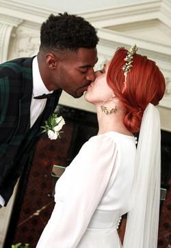 Kissing moment