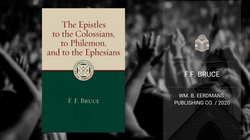 Book | The Epistles: F.F. Bruce