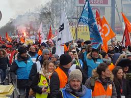 Retour médias de la grève 1er mars