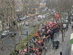 Forte mobilisation du 1er mars