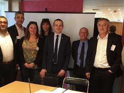 RDV de l'intersyndicale avec le députe Fabien Di Filippo, soutien actif dans notre lutte pour pr