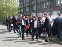 Mobilisation des salariés de l'agence de Rennes - jeudi 12 avril