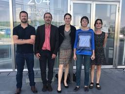 25 mai, rencontre de l'intersyndicale avec Elsa Faucillon, députée PCF des       Hauts-de-Seine