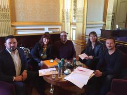 RDV de l'intersyndicale le 2 mai avec le sénateur des Hauts-de-Seine Xavier Iacovelli
