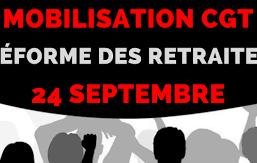 Le Mardi 24 septembre 2019, Mobilisons-nous !