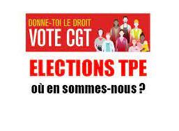 Les salariés confirment la CGT comme 1èr syndicat dans les TPE